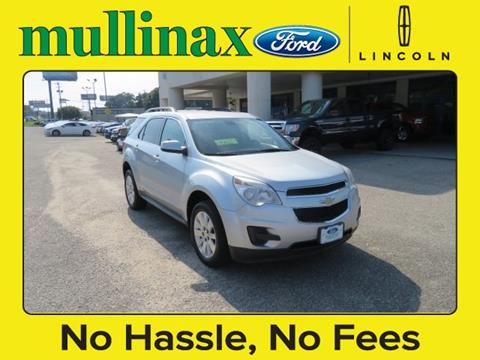 2011 Chevrolet Equinox for sale at Ask for Derek Montalvo at Mullinax Ford in Mobile AL