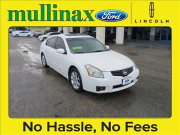 2007 Nissan Maxima for sale at Ask for Derek Montalvo at Mullinax Ford in Mobile AL