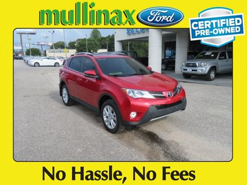 2015 Toyota RAV4 for sale at Ask for Derek Montalvo at Mullinax Ford in Mobile AL