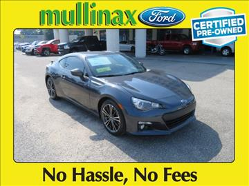 2013 Subaru BRZ for sale at Ask for Derek Montalvo at Mullinax Ford in Mobile AL