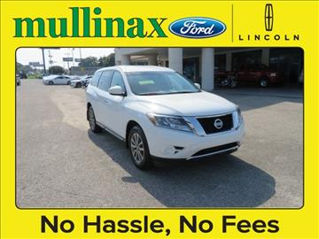 2013 Nissan Pathfinder for sale at Ask for Derek Montalvo at Mullinax Ford in Mobile AL