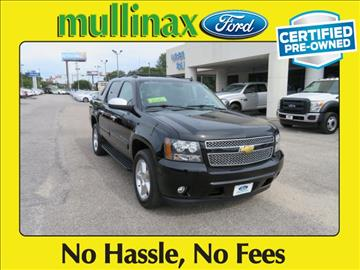 2013 Chevrolet Black Diamond Avalanche for sale at Ask for Derek Montalvo at Mullinax Ford in Mobile AL