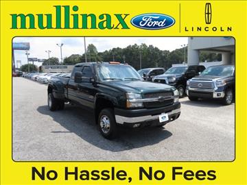 2004 Chevrolet Silverado 3500 for sale at Ask for Derek Montalvo at Mullinax Ford in Mobile AL