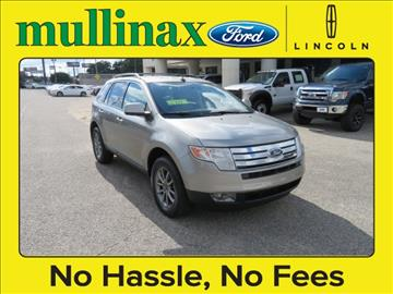 2008 Ford Edge for sale at Ask for Derek Montalvo at Mullinax Ford in Mobile AL