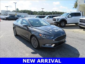 2017 Ford Fusion Energi for sale at Ask for Derek Montalvo at Mullinax Ford in Mobile AL