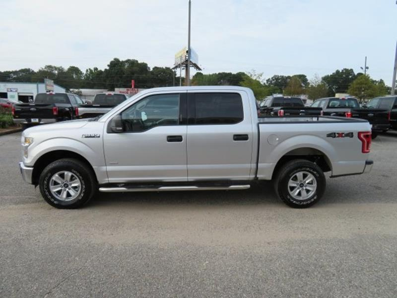 2016 Ford F-150 for sale at Ask for Derek Montalvo at Mullinax Ford in Mobile AL