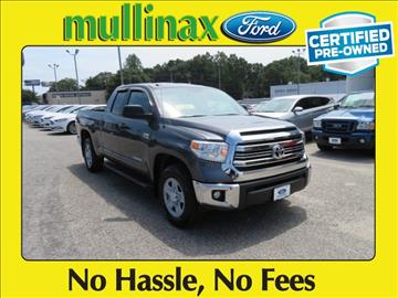 2017 Toyota Tundra for sale at Ask for Derek Montalvo at Mullinax Ford in Mobile AL
