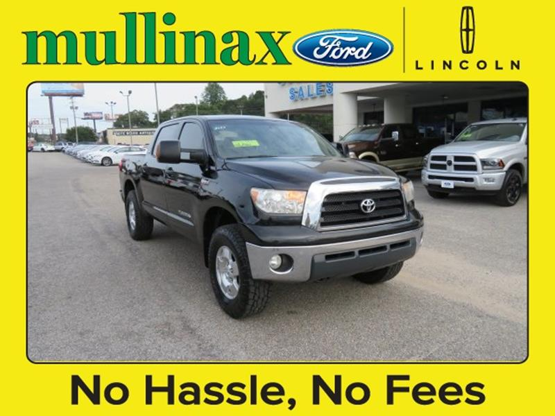 2008 Toyota Tundra for sale at Ask for Derek Montalvo at Mullinax Ford in Mobile AL