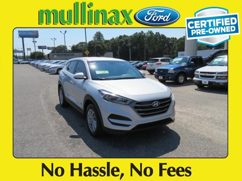 2016 Hyundai Tucson for sale at Ask for Derek Montalvo at Mullinax Ford in Mobile AL