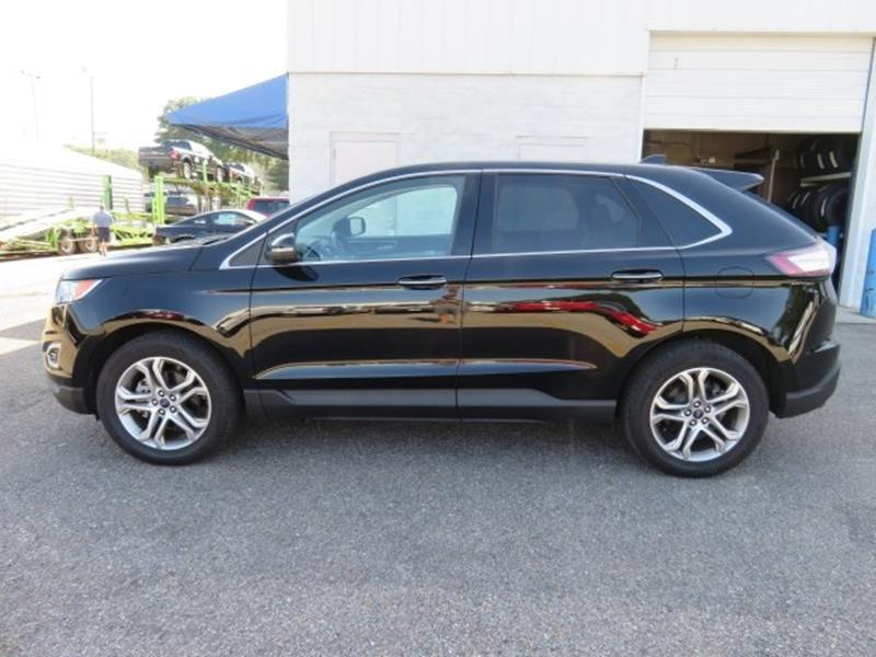 2016 Ford Edge for sale at Ask for Derek Montalvo at Mullinax Ford in Mobile AL