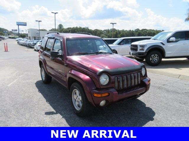 2002 Jeep Liberty for sale at Ask for Derek Montalvo at Mullinax Ford in Mobile AL