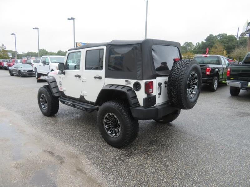 2010 Jeep Wrangler Unlimited for sale at Ask for Derek Montalvo at Mullinax Ford in Mobile AL