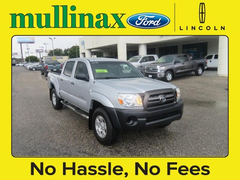 2010 Toyota Tacoma for sale at Ask for Derek Montalvo at Mullinax Ford in Mobile AL