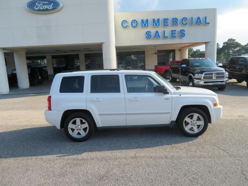 2010 Jeep Patriot for sale at Ask for Derek Montalvo at Mullinax Ford in Mobile AL