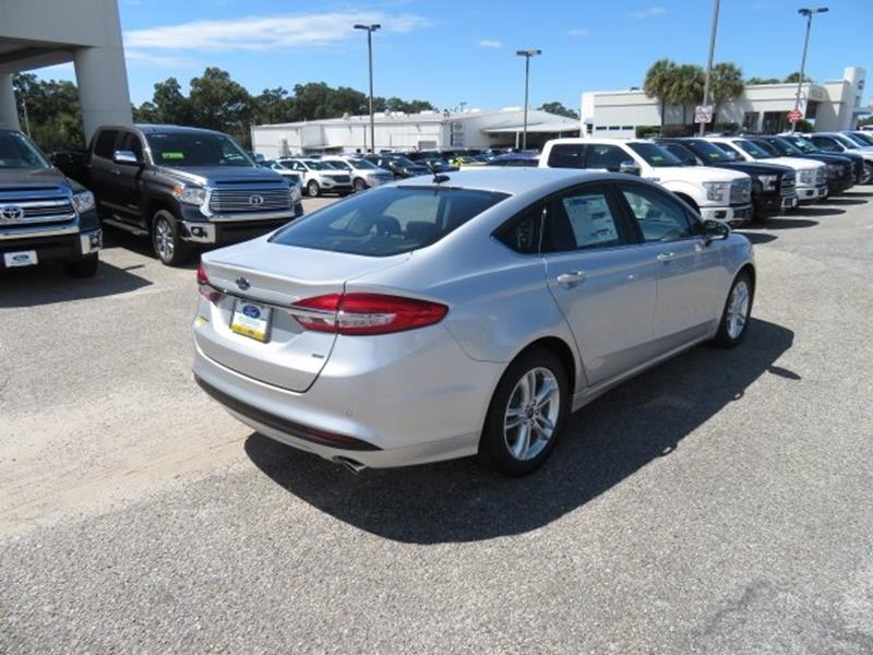2018 Ford Fusion for sale at Ask for Derek Montalvo at Mullinax Ford in Mobile AL