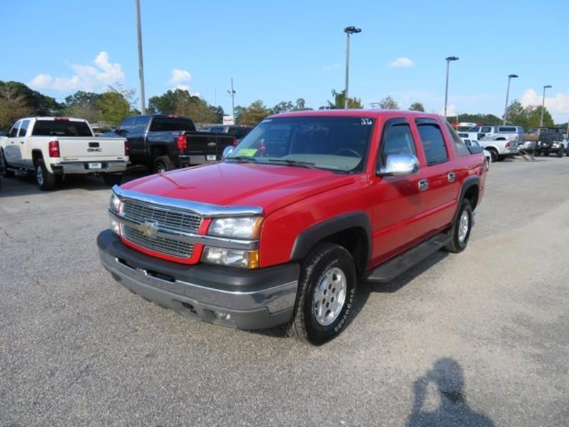 2004 Chevrolet Avalanche for sale at Ask for Derek Montalvo at Mullinax Ford in Mobile AL