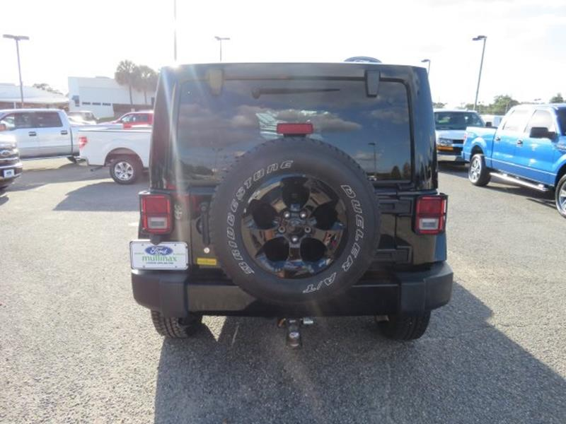 2015 Jeep Wrangler Unlimited for sale at Ask for Derek Montalvo at Mullinax Ford in Mobile AL