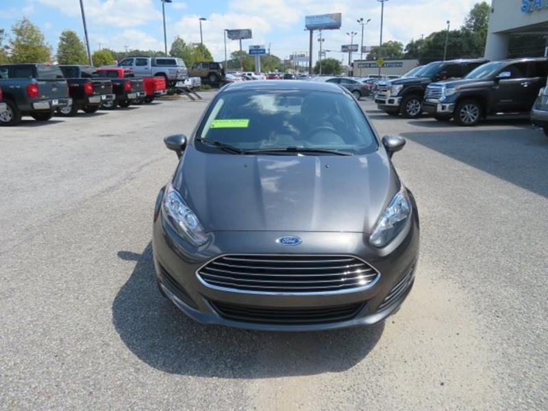 2017 Ford Fiesta for sale at Ask for Derek Montalvo at Mullinax Ford in Mobile AL