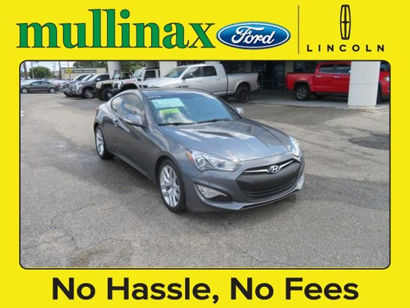2015 Hyundai Genesis Coupe for sale at Ask for Derek Montalvo at Mullinax Ford in Mobile AL