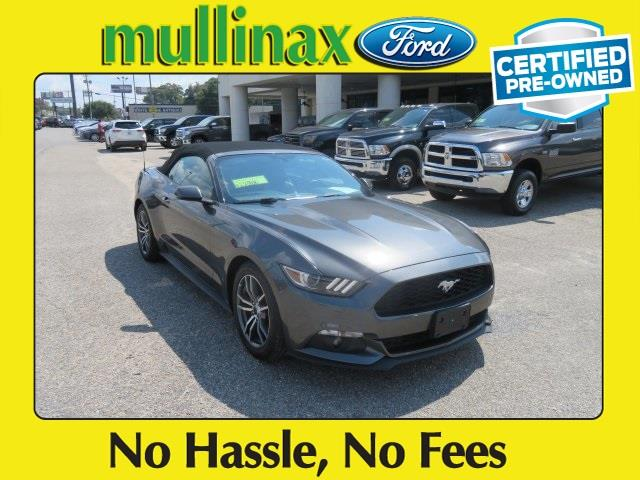 2016 Ford Mustang for sale at Ask for Derek Montalvo at Mullinax Ford in Mobile AL