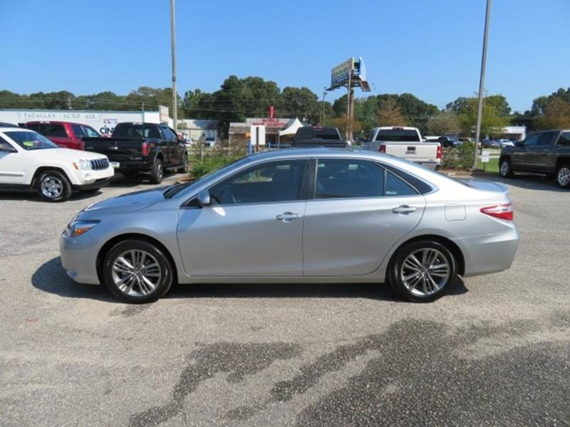 2016 Toyota Camry for sale at Ask for Derek Montalvo at Mullinax Ford in Mobile AL
