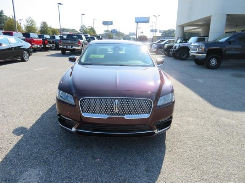 2017 Lincoln Continental for sale at Ask for Derek Montalvo at Mullinax Ford in Mobile AL