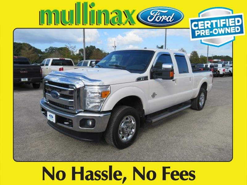 2015 Ford F-250 Super Duty for sale at Ask for Derek Montalvo at Mullinax Ford in Mobile AL