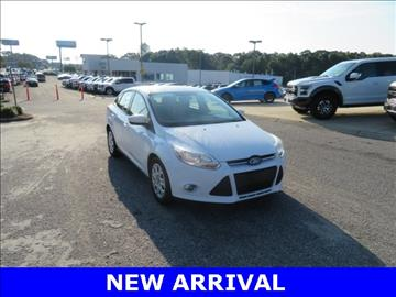 2012 Ford Focus for sale at Ask for Derek Montalvo at Mullinax Ford in Mobile AL
