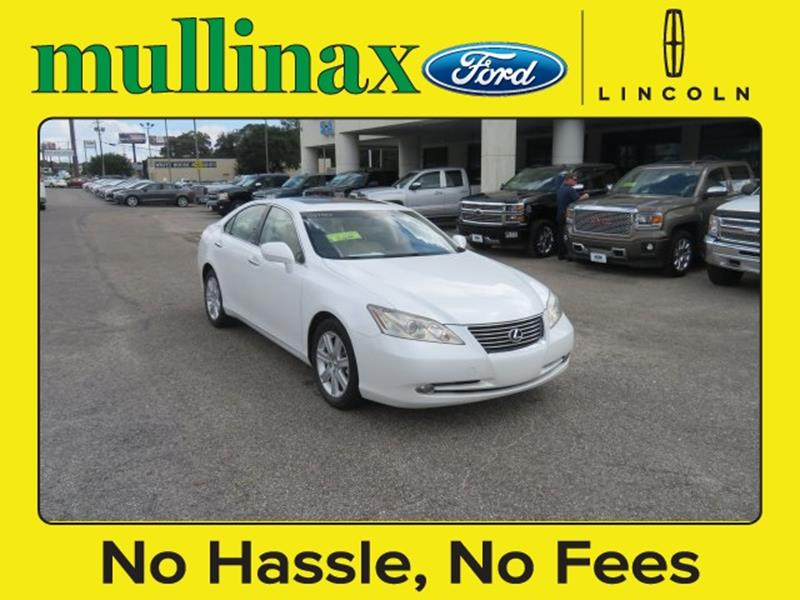 2007 Lexus ES 350 for sale at Ask for Derek Montalvo at Mullinax Ford in Mobile AL