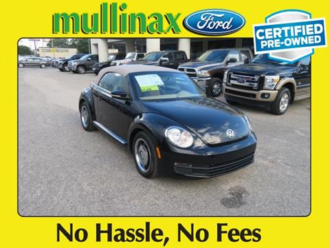 2013 Volkswagen Beetle for sale at Ask for Derek Montalvo at Mullinax Ford in Mobile AL