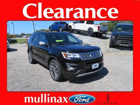 2017 Ford Explorer for sale in Mobile, AL