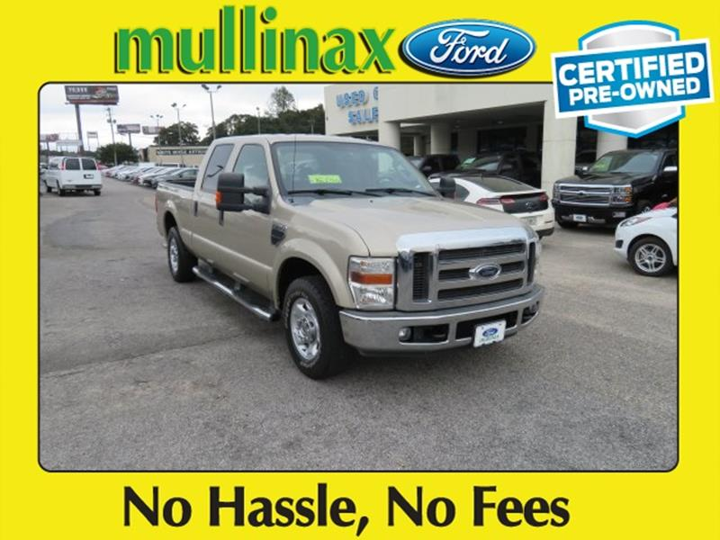 2010 Ford F-250 Super Duty for sale at Ask for Derek Montalvo at Mullinax Ford in Mobile AL