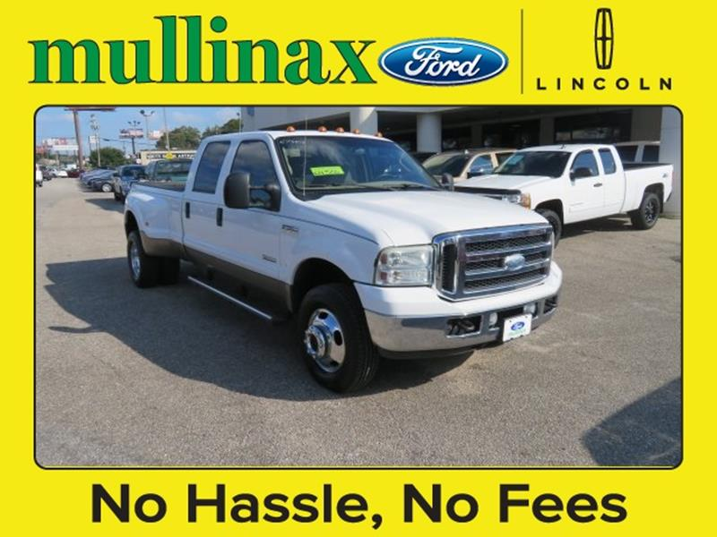 2005 Ford F-350 Super Duty for sale at Ask for Derek Montalvo at Mullinax Ford in Mobile AL
