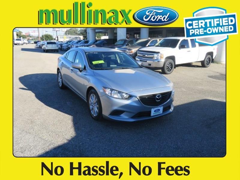 2016 Mazda MAZDA6 for sale at Ask for Derek Montalvo at Mullinax Ford in Mobile AL