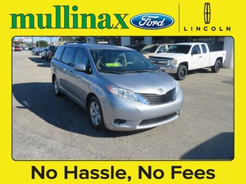 2011 Toyota Sienna for sale at Ask for Derek Montalvo at Mullinax Ford in Mobile AL