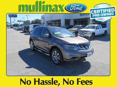 2014 Nissan Murano for sale at Ask for Derek Montalvo at Mullinax Ford in Mobile AL