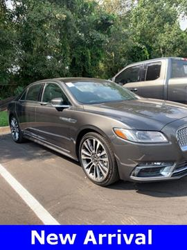 2018 Lincoln Continental for sale in Mobile, AL