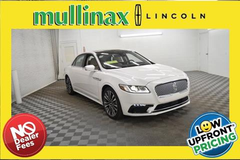 2019 Lincoln Continental for sale in Mobile, AL