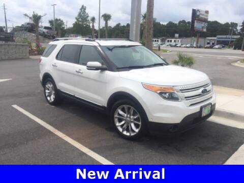 2014 Ford Explorer Limited for sale at Monty at Mullinax Ford in Mobile AL
