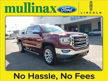 2016 GMC Sierra 1500 for sale at Derek Montalvo at Mullinax Ford - Mullinax Ford of Mobile in Mobile AL