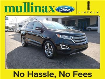 2016 Ford Edge for sale at Derek Montalvo at Mullinax Ford - Mullinax Ford of Mobile in Mobile AL