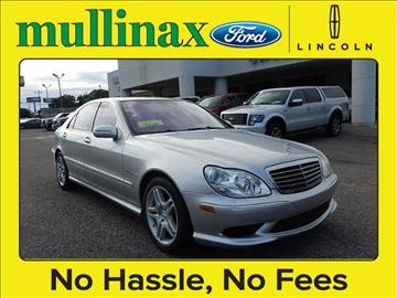 2005 Mercedes-Benz S-Class for sale at Derek Montalvo at Mullinax Ford in Mobile AL
