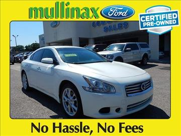 2014 Nissan Maxima for sale at Derek Montalvo at Mullinax Ford in Mobile AL