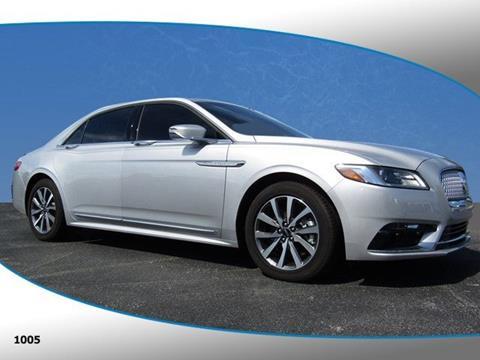 2017 Lincoln Continental for sale in Merritt Island, FL