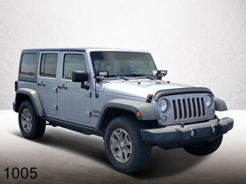 2015 Jeep Wrangler Unlimited for sale in Merritt Island, FL