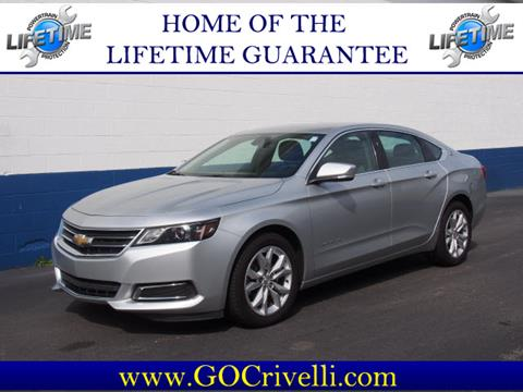 2016 Chevrolet Impala for sale in New Castle, PA