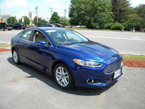 2015 Ford Fusion for sale in Salem NH