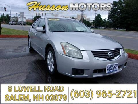 2008 Nissan Maxima for sale in Salem, NH