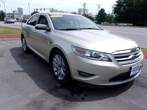 2010 Ford Taurus for sale in Salem NH