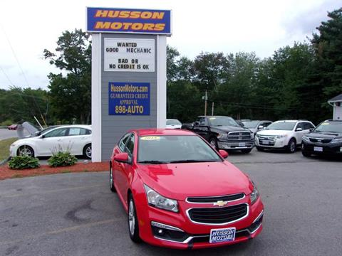 2015 Chevrolet Cruze for sale in Salem NH